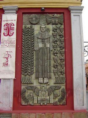 Foto del Mural de la capilla, Salta.