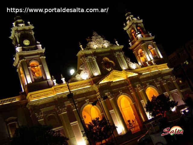 Foto de la Catedral Basílica de Salta.