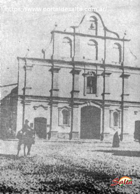 Foto de la Iglesia Matriz en 1.692, Salta.