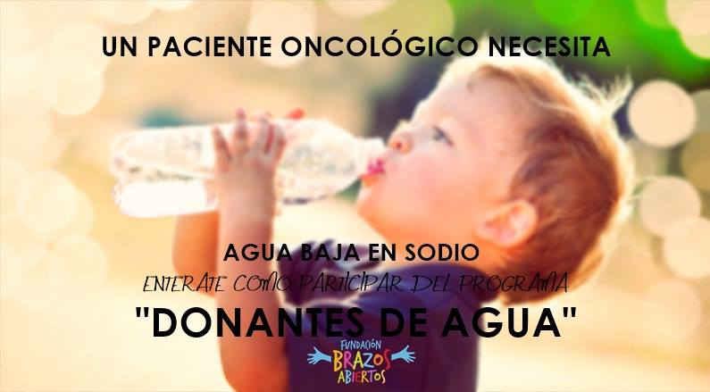 Imagen banner donantes de agua, Salta