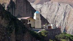Foto de la iglesia de Iruya en Salta Argentina.